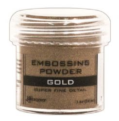 Ranger Embossing Powder - Super Fine Detail Gold